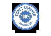 Scanned ticket