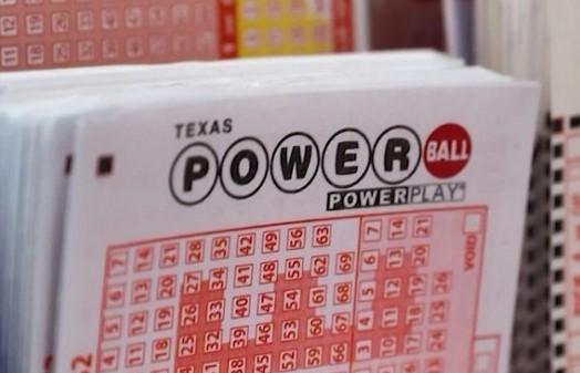Texas Lottery Powerball ticket